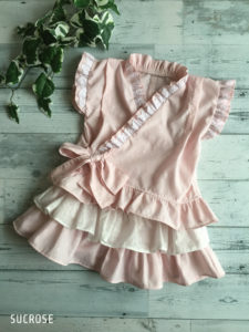 妖精の庭甚平ドレス100サイズ