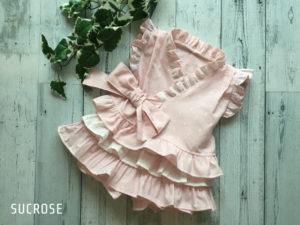 妖精の庭甚平ドレス80サイズ
