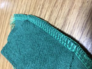 エクシムロックes4dの不調な縫い目