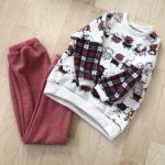 ハンドメイドの長女のパジャマ