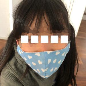 SMILEさん立体マスクの着画